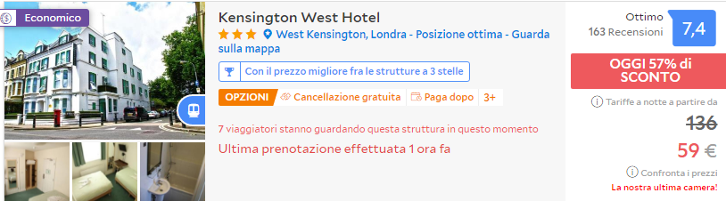 Weekend low cost a Londra! 3 notti in buon hotel a 3 stelle ben ...