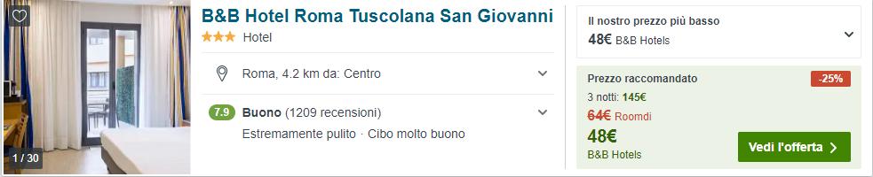 pasqua a roma low cost